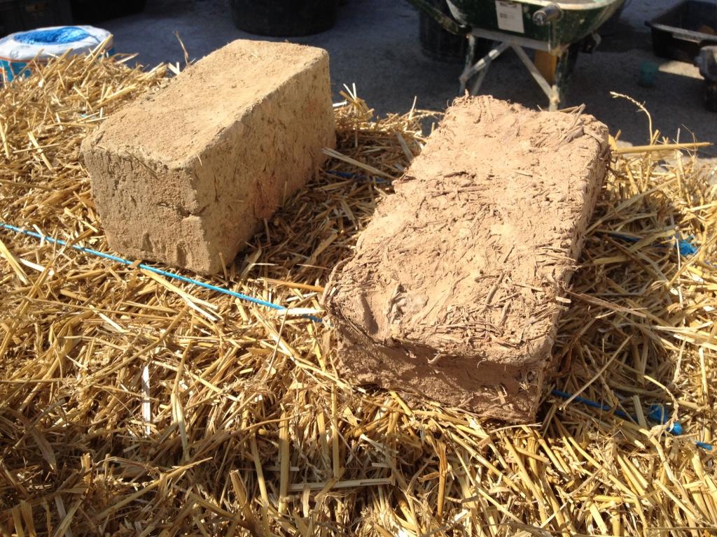 briques d'adobe